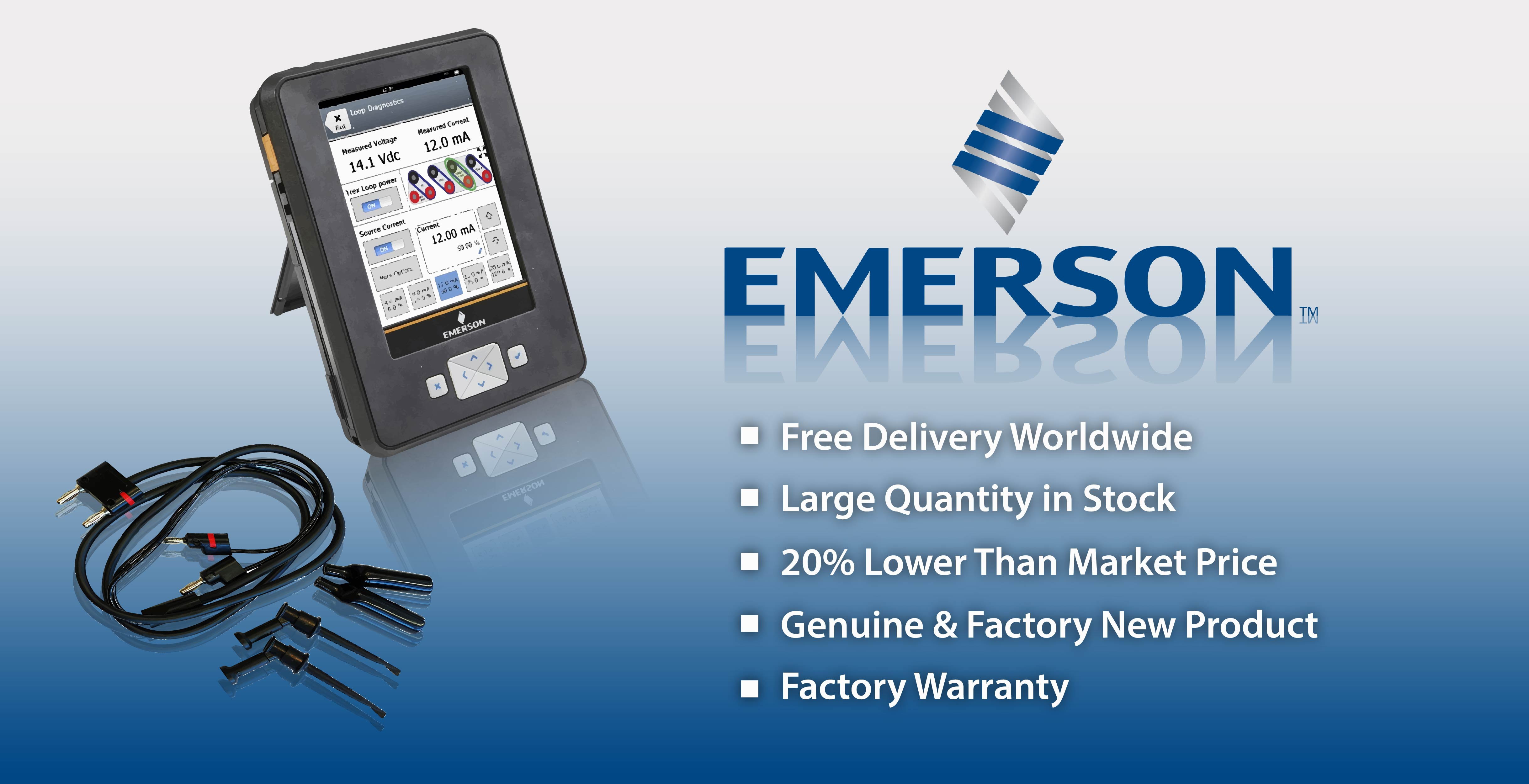 Emerson AMS TREX | 20% Lower than the market price | Quick Time Engineering Inc