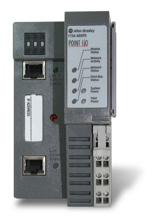 Allen Bradley 2 Port Ethernet Ip I O Module 1734 Aentr