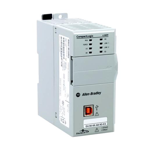 Allen Bradley CompactLogix 5370 L3 Controller: 1769-L33ER