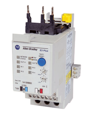 Allen Bradley Electronic Motor Protection Relay 193 Ec2ab