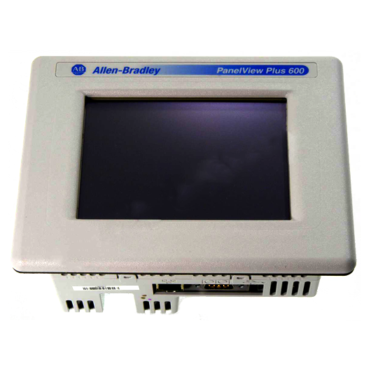 Allen Bradley PanelView Plus 600 Touch Display Module: 2711P-T6C20D