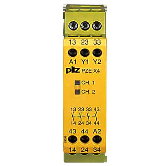 Pilz PZE X4P 24VDC