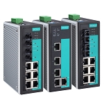 MOXA 5 and 8-port Entry-level Managed Ethernet Switches: EDS-405A