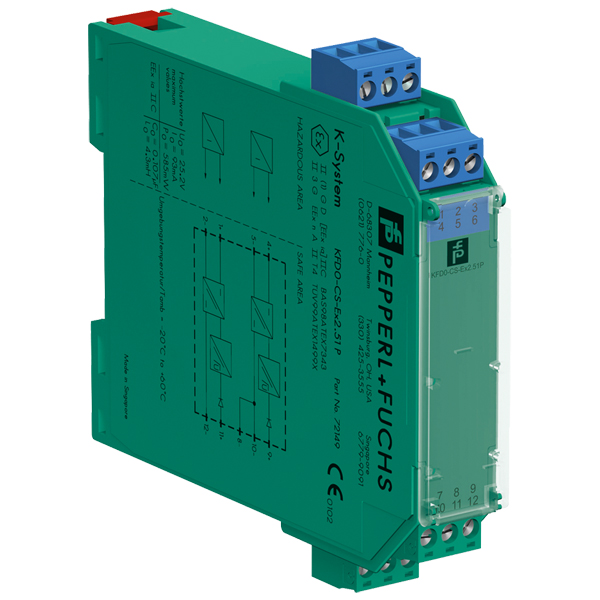 KFD0-CS-Ex2.51P | Pepperl+Fuchs Current Driver/Repeater