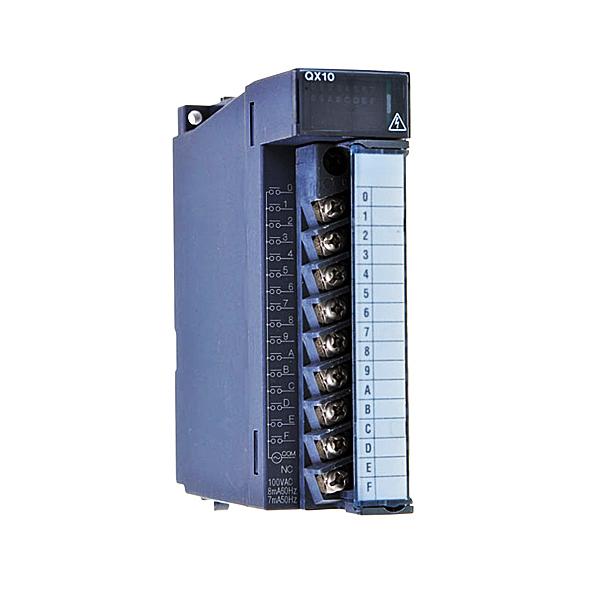 MITSUBISHI QX10 100-120 VAC Input Module 16 Point