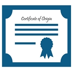 Certificate of Origin from Local Chamber of Commerce