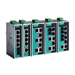 MOXA 5 and 8-port Unmanaged Ethernet Switches: EDS-208A