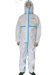 HazPRO 5/6 Coverall Taped PO_CT211 |British Innovation,Global Protection | Professional Disposable Protective Clothes | One-Piece Chemical Protective Coverall (50pcs/carton, USD 18/pc)