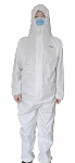 HazPRO 5/6 Coverall PO_C11|British Innovation | Global Protection | Professional Disposable Protective Clothes | One-Piece Chemical Protective Coverall (50pcs/Carton, USD 14/pc)