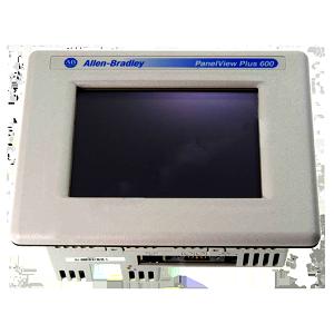 Allen Bradley PanelView Plus 600 Touch Display Module: 2711P-T6C20D8