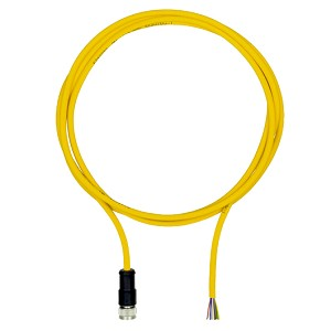 PILZ PSEN op cable axial M12 8-p. shield. 5m: 630314
