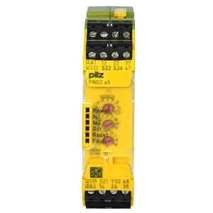 Technical details   pilz pnoz s5 c 24vdc 2 n/o 2 n/o t coated user.