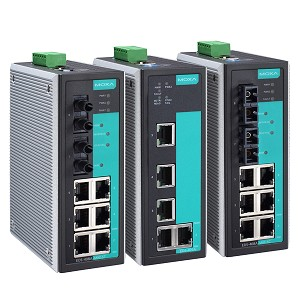 EDS-405A | MOXA 5 and 8-port Entry-level Managed Ethernet Switches